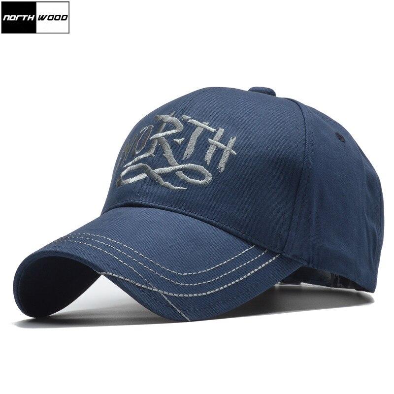 [NORTHWOOD] Hohe Qualität Mode Baseball Kappe Männer Hysterese Kappen Für Frauen Knochen Casquette Homme Trucker Kappe Gorras Dad hut