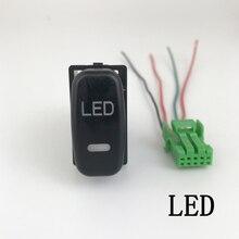 DRL LED fan Sis Lambası Ön Kamera Kaydedİcİ Monİtörü Radar Park Sensörü Anahtarı Düğmesi Mitsubishi ASX gücü kamaştırıcı RVR