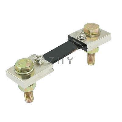 FL-2 divisor de resistencias de corriente tipo amperímetro DC 100A 75mV