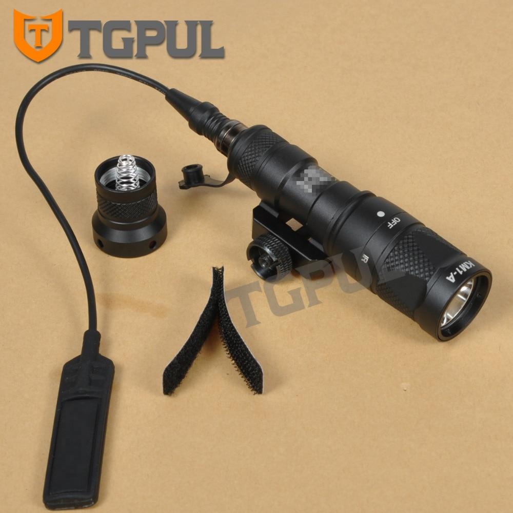 TGPUL M300 M300V IR Light Tactical Infrared Flashlight Military Weapon Light Hunting Mini Scout Light For 20mm Rail AR15