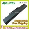 Apexway – batterie pour ordinateur portable 4400mAh 6 cellules pour HP ProBook ZZ06 4510s 4515s 4710s 72032-001 HSTNN-OB88 HSTNN-XB88