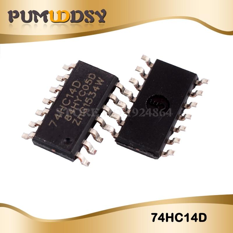 20 piezas 74HC14D 74HC14 SN74HC14D SOP14 IC