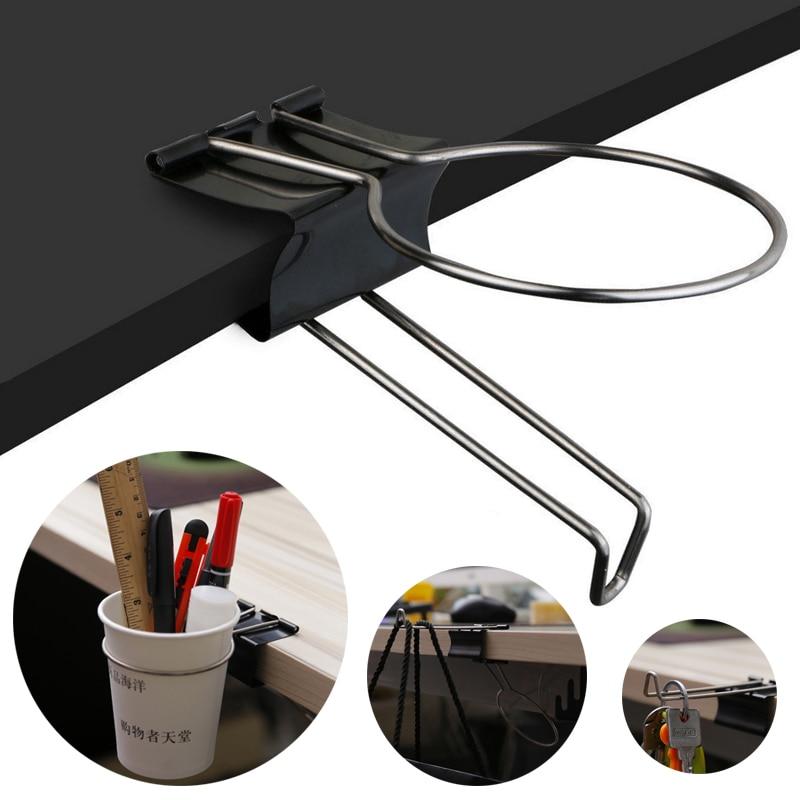 JX-LCLYL креативный стол стойка для хранения офисный/домашний, для напитков зажим-подставка для чашек черный