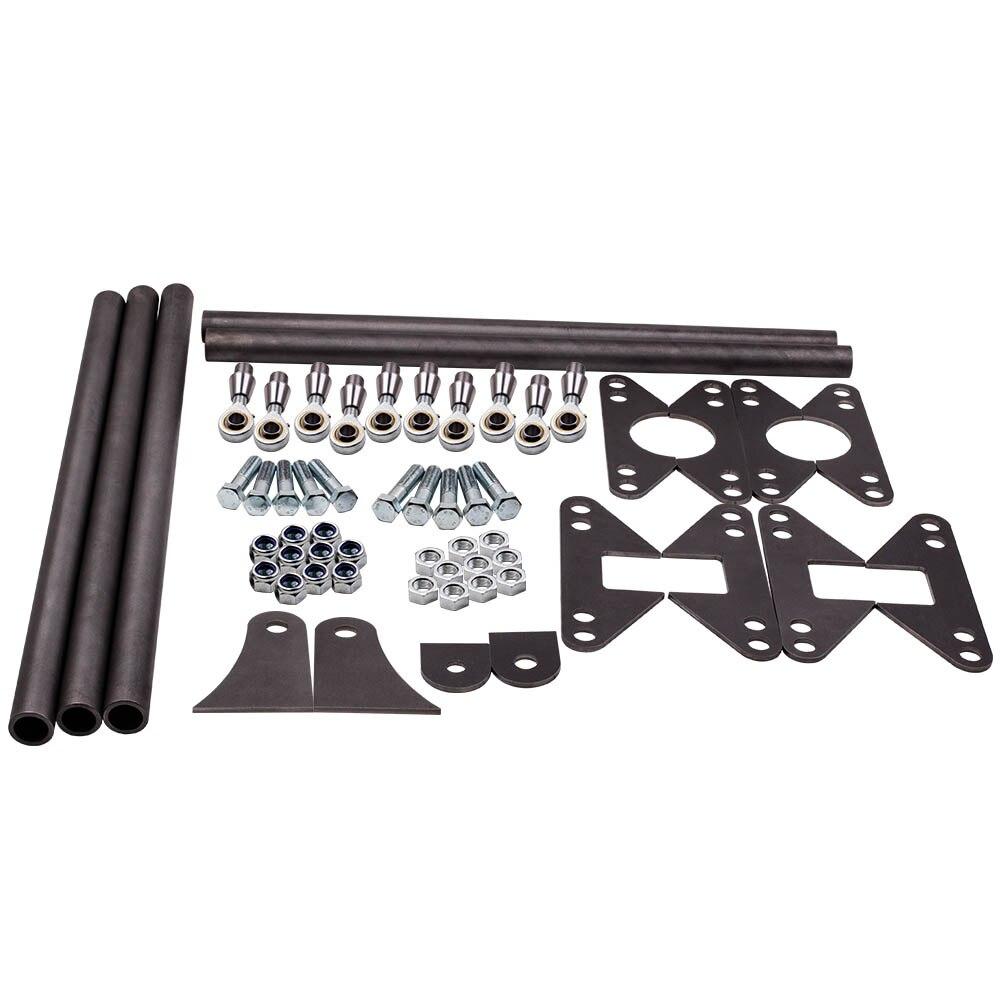 MAXPEEDINGRODS For Rear Weld-On Parallel 4 Link Suspension Kit 24
