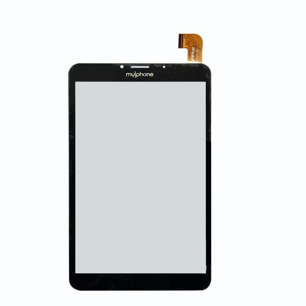Nuevo para Tablet Myphone Myt2 de 8 pulgadas, panel de pantalla táctil, cristal digitalizador con sensor de repuesto
