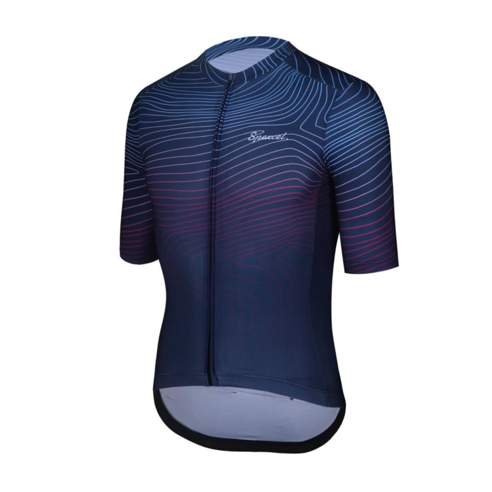 Спортивная велосипедная рубашка с коротким рукавом SPEXCEL, легкая велосипедная рубашка с молнией YKK, новинка 2019