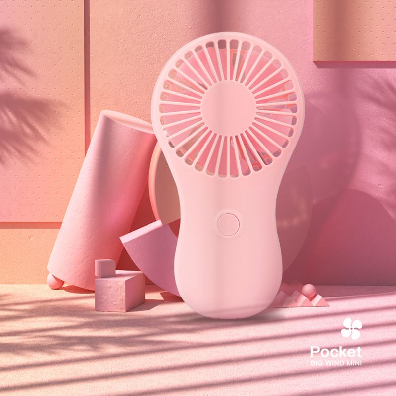 Мини портативный карманный вентилятор крутой Воздушный Ручной охладитель для путешествий охлаждающий мини вентилятор питание от 3x AAA Batteryl29k