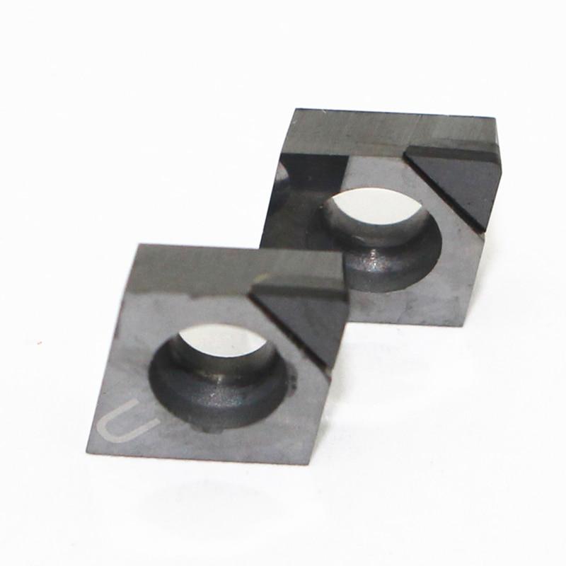 2 uds CCGT09T304 PCD insertar CBN CCMT060204 CCMT09T304 CCMT120404 431 hoja de diamante interior herramientas para torneado torno herramientas