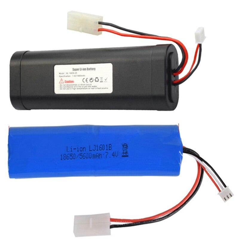 7,4 v 5600mAh 2800mAh 1800mAh 18650 batería de iones de litio heng long RC HL3818-1 3889-1 3809 tanque de juguete de mejora de gran capacidad L6.2-2P