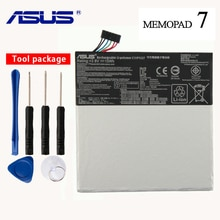 Ordinateur portable dorigine ASUS C11P1327 Batterie Pour ASUS C11P1327 Fondpad 7 MeMo Pad 7 Me170C ME170CX ME170 K012 K017 FE170CG 3910 mAh