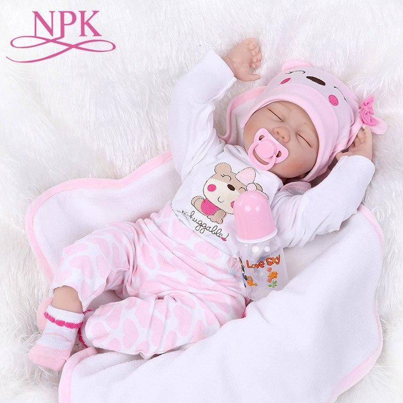 55cm reborn menina bonecas renascida, completa silicone, bebê, realista, bebês, recém-nascidos, princesa, bonecas, bebê