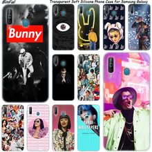 Cardi B Bad Bunny Silicone Phone Case For Samsung Galaxy A80 A70 A60 A50 A40 A40S A30 A20E A2CORE M40 Note 10 Plus 9 8 5 Fashion