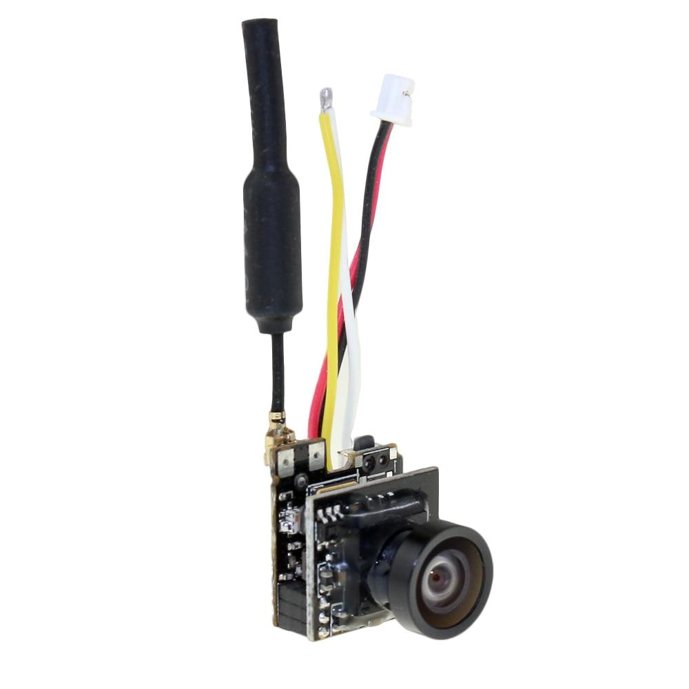 LST - S2 OSD 5.8G 800TVL HD Micro CMOS FPV كاميرا 150 درجة زاوية عرض 3.6g خفيفة للغاية PAL / NTSC قابلة للتحويل