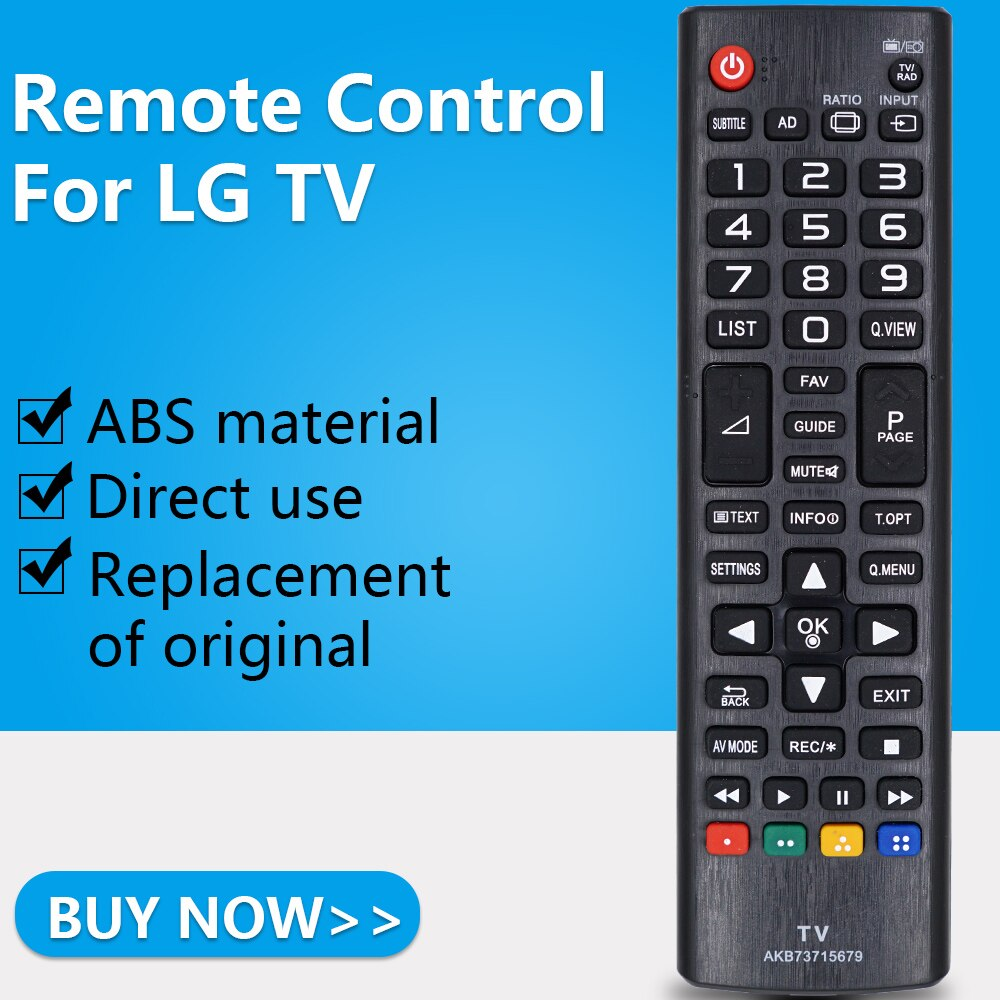 ZF Pour LG TV Télécommande AKB73715679 42LN5400 47LN5400 50LN5400 42LN5406 32LB550 42LB550 55LB561 60LB561 60PB560