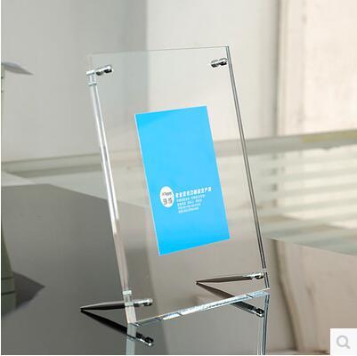 Envío Gratis Caja de marco de acrílico barato caja de embalaje independiente 6 polegadas