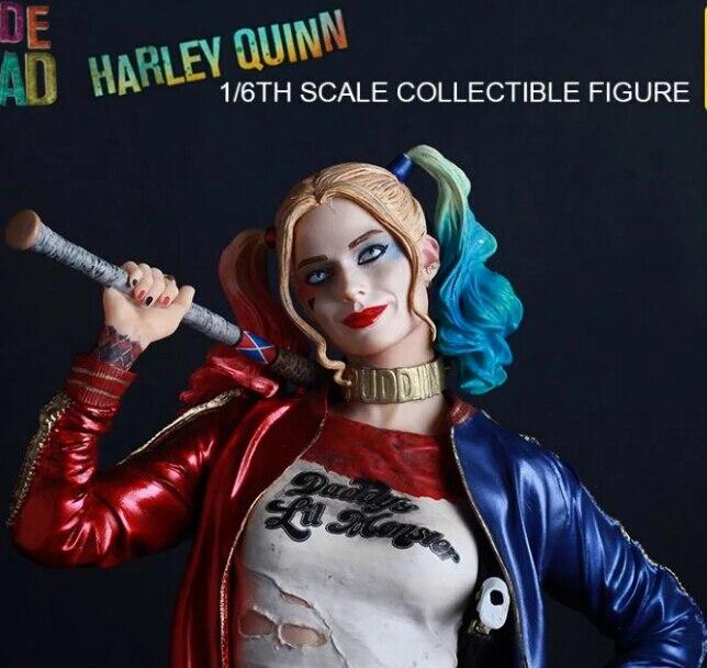 Nowy gorący 30cm samobójstwo Squad Harley Quinn Harleen Quinzel kolekcjonerskie zabawki figurki akcji boże narodzenie z pudełkiem