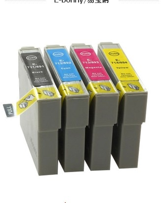 Cartucho de tinta compatible 89/71 T0711-T0714 T0715 para impresora EPSON Stylus SX215/SX218/SX400/SX405/SX405WiFi/SX410/SX415/SX510W