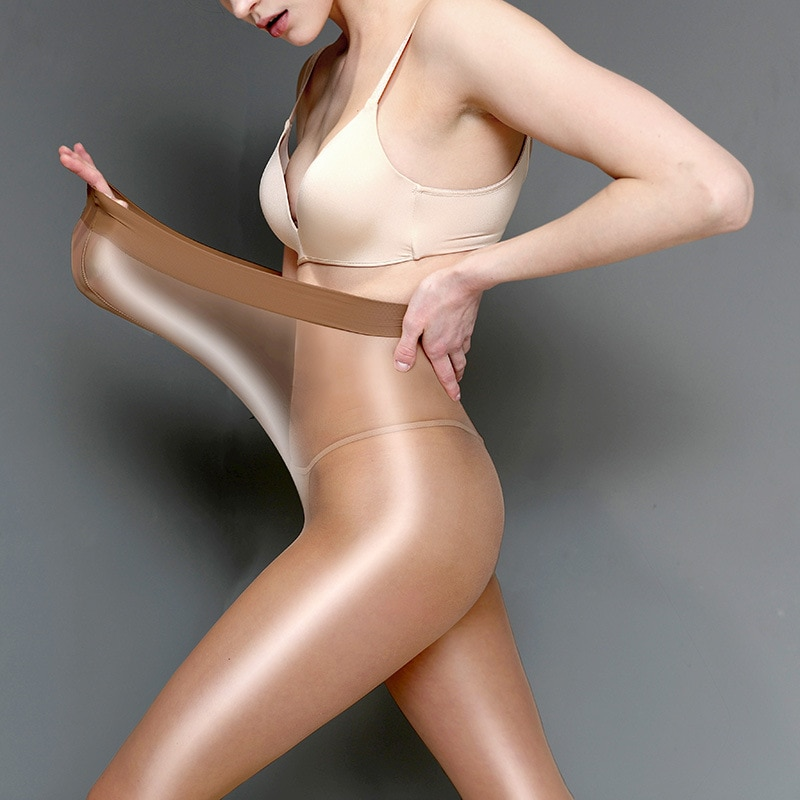 AliExpress - 60D plus size Women's Sheer Sexy Shiny Glossy Oil Pantyhose Tights thick good quality One Line Crotch oil Stockings