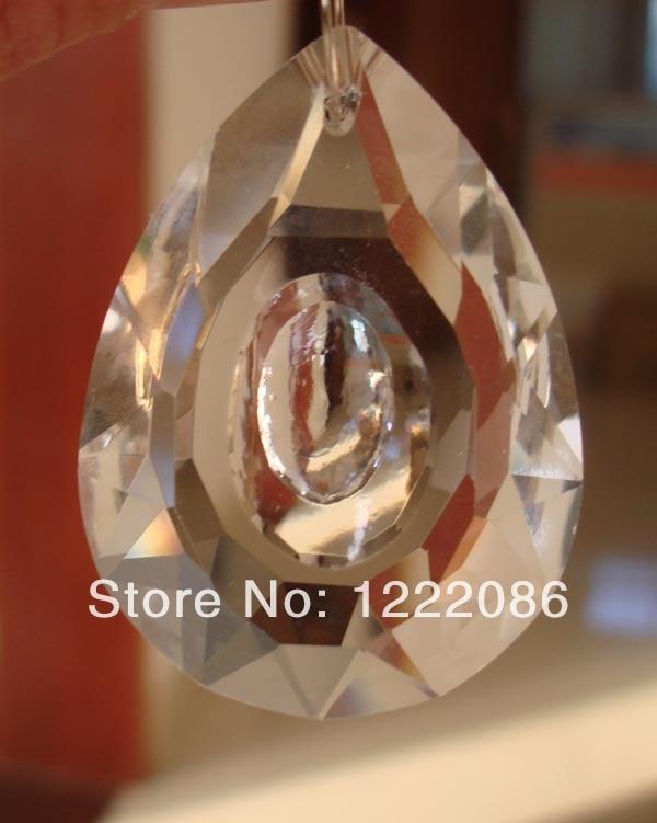 ¡Nuevo! Suncatcher-100 piezas gran lámpara de cristal de 63mm prisma 2,5 pulgadas