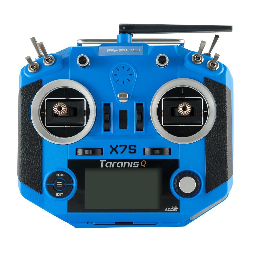 Frsky, 2,4G, 16 canales, ACCST, Taranis Q X7S, transmisor TX, Modo 2 M7, cardán, entrenador inalámbrico, bolsa de aplicación de Enlace gratis para modelos RC