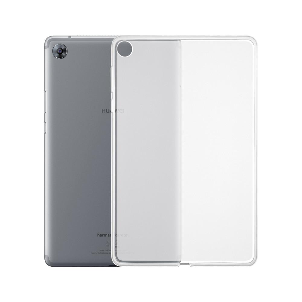 Fundas transparentes Ultra delgadas para Huawei MediaPad M5 8 8,4 pulgadas, fundas finas a prueba de golpes, carcasa trasera