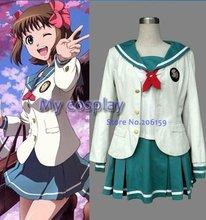 Idol Master Meisjes Schooluniform Cosplay Kostuum Winter Uniform Jas Voor Vrouwen Halloween Kleding
