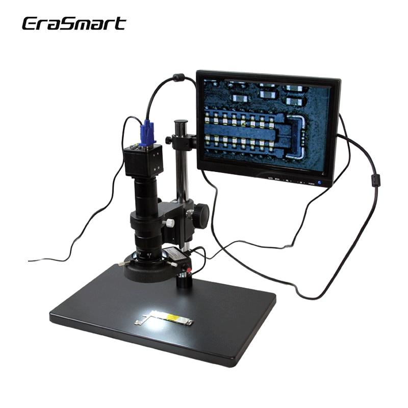 TBK 10A HD Microscopio de vídeo de pantalla electrónica para reparación de teléfono móvil HDMI VGA