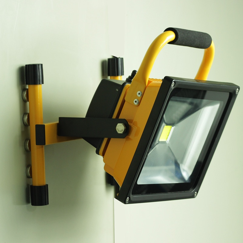 50W Magnetic suction portable lamp LED work light strong magnet floodlight