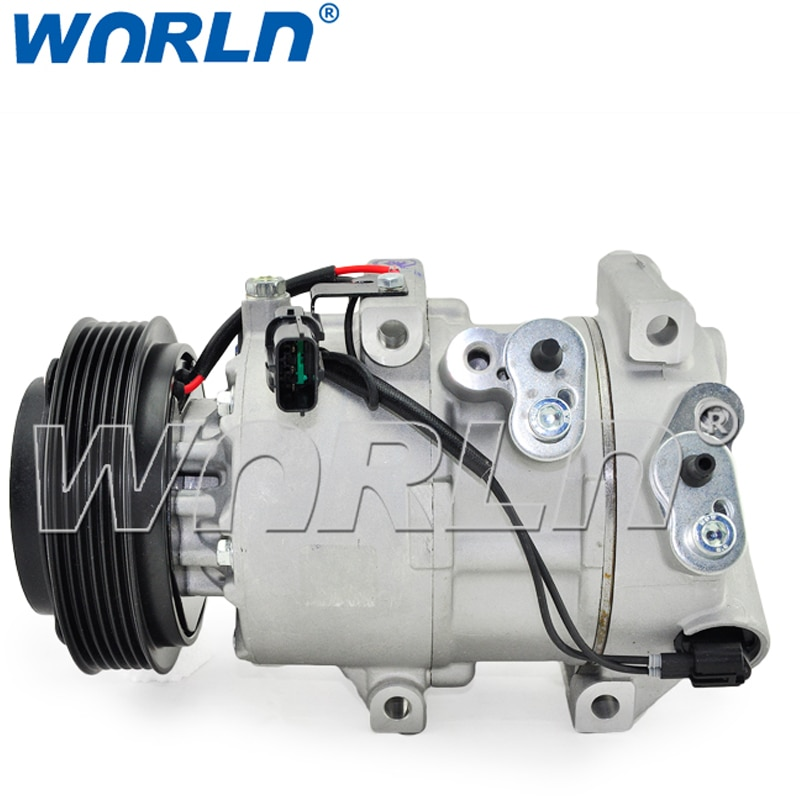 AUTO AC car air conditioner COMPRESSOR for Kia sportage R Rio Splash Guards Hyundai Tucson  2010 2012 12V 977012S500 1WF46 AC000