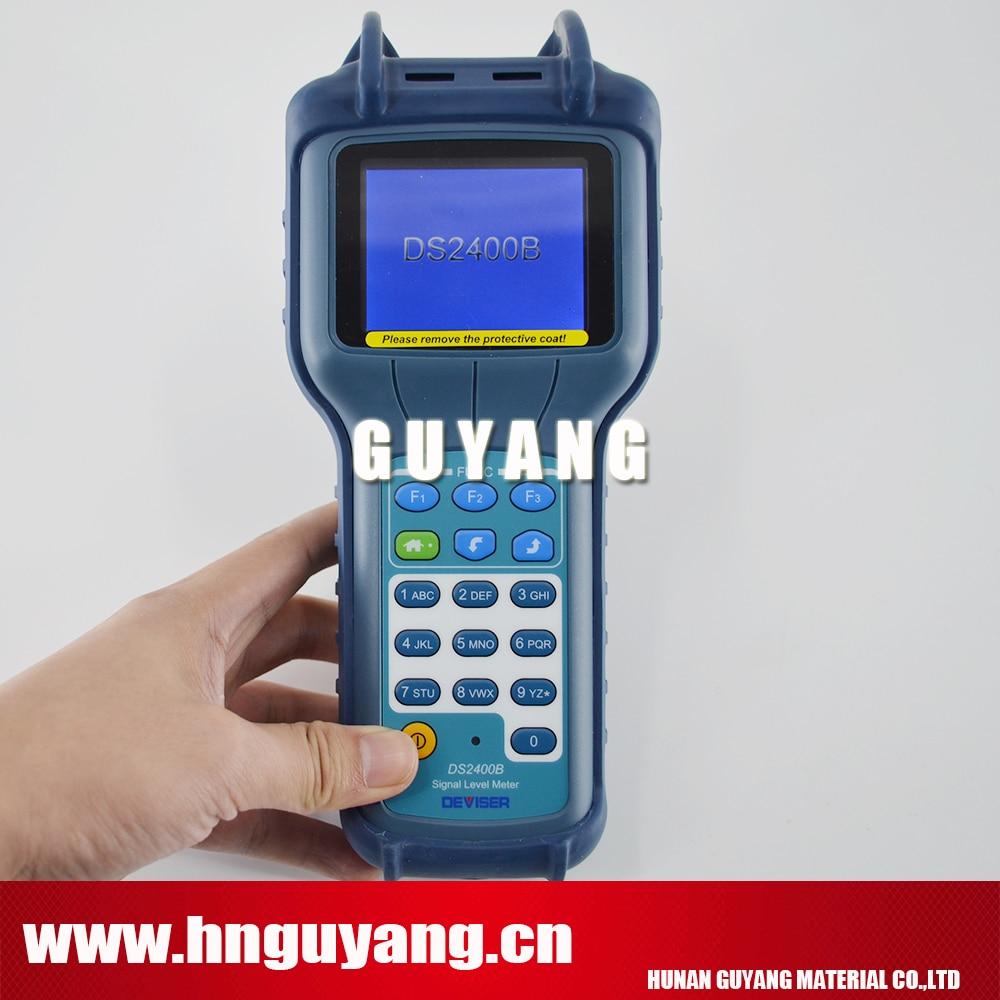 TV & CATV QAM Modulation Meter 1GHz Deviser DS2400B Signal Level Meter CATV QAM Analyzer