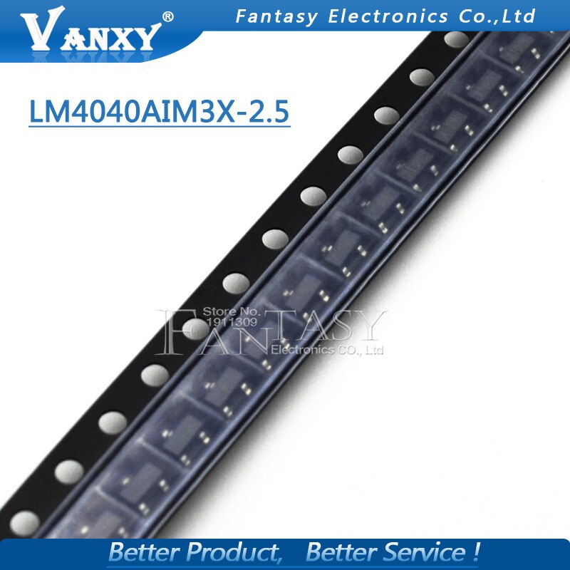 10PCS LM4040AIM3X-2.5 SOT23 LM4040AIM3XI SOT-23 LM4040A LM4040 Spannung Referenz