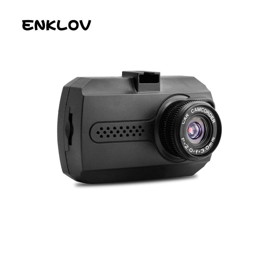 ENKLOV IPS Tela DVR Night Vision LED DVRS Carro Projeto Mini Full HD 1080 p Traço Cam Recorde de 140 Graus ampla Ângulo Da Câmera Do Carro