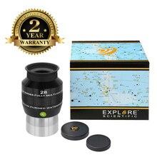 Nowość odkryj okular naukowy 68 stopni ekstremalne szerokie pole wodoodporne 2 cale 28mm Argon-Purged EMD Coatings
