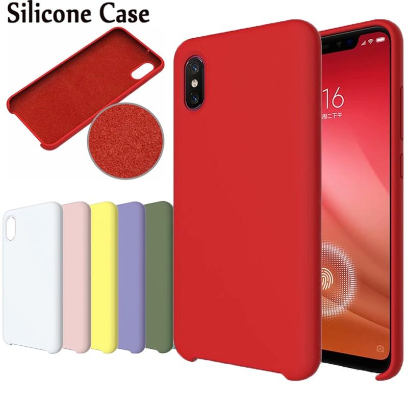Histéricamente Macaron fundas Originales para Redmi 5 6 Plus 6Pro mate fundas de silicona para Xiaomi 6 6X 8 8Pro 8lite mezclar 2 2S Max 3 Plus