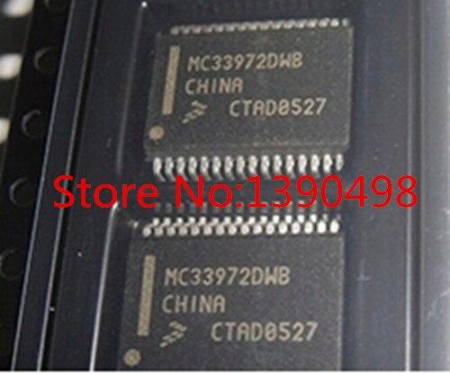 Frete Grátis MC33972DWB 10 pc/lote MSOP MSSOP SOP IC