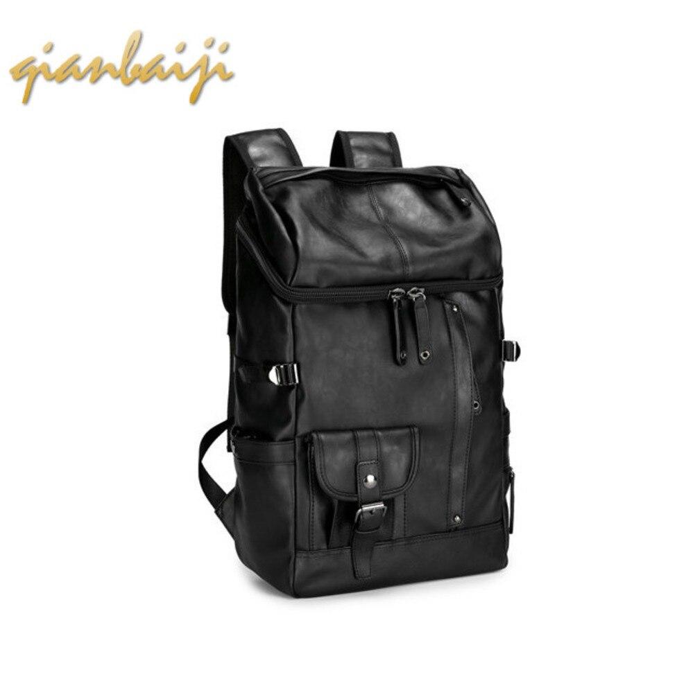Women Shoulders Backpacks Men Laptop Backpack Travel Student A Bag Pu Mochila Mujer Bagpack School Bags Teenage Girls Back Pack