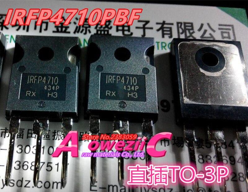 Aoweziic 2017 + 100% nuevo importado original IRFP4710PBF IRFP4710-247 FET 100 V 72A 190 W
