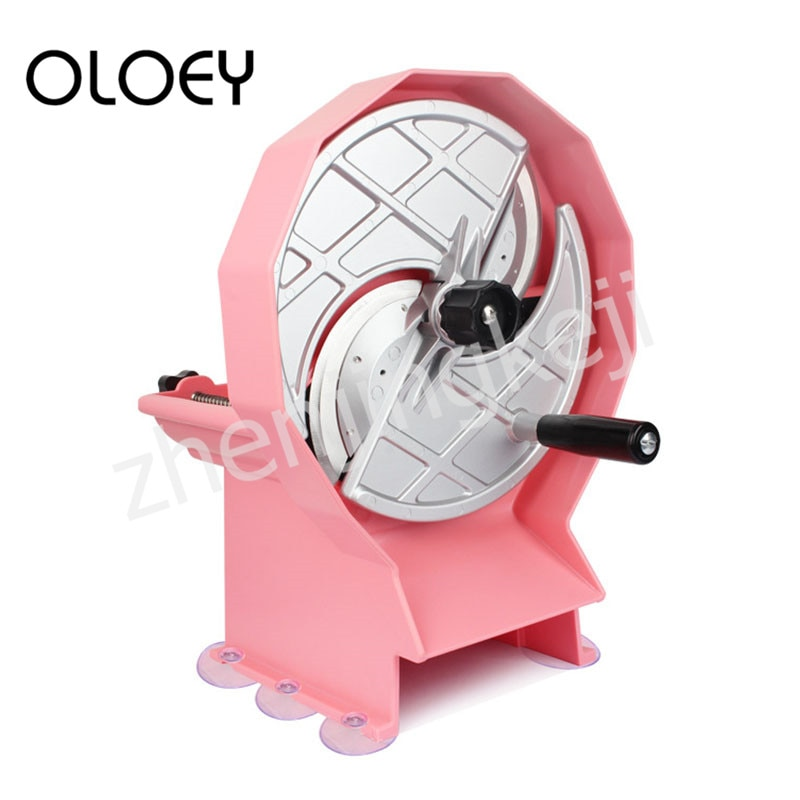 Fruit Slicer Hand-operated Multifunction Fruit And Vegetable Lemon Slices Adjustable Thickness Removable And Washable Effortless