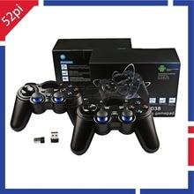 2 шт./компл.! Беспроводной игровой контроллер 2,4G для ПК, Raspberry Pi, RetroPie, Android Smart TV Box, планшетных ПК, PS3, NESPi