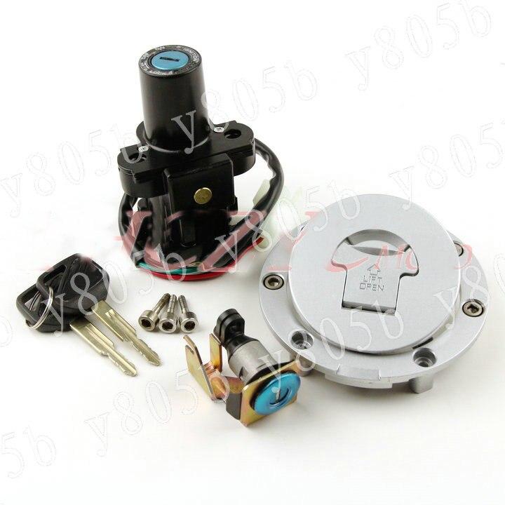 Motocicletas interruptor de encendido tapa de Gas llave seat conjunto de bloqueo para Honda NT650 (DEAUVILLE/HAWK) 98-05/NT700V (DEAUVILLE) 06-10 TS-03