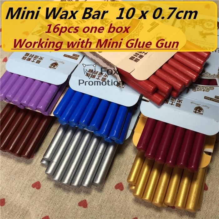 16pcs/pack High Quality Mini Sealing Wax Stick Retro Seal Stamp Vintage Wax Stick Sellado Sax palillo sello de la cera de Sellos