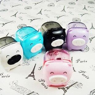 deli 0557 standard cute pig fantastic toy pencil sharpener