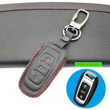 2019 Praise 100% Leather Case Cover For Geely Atlas Boyue NL3 Emgrand X7 EmgrarandX7 EX7 SUV GT GC9 Borui Car Remote Key Case