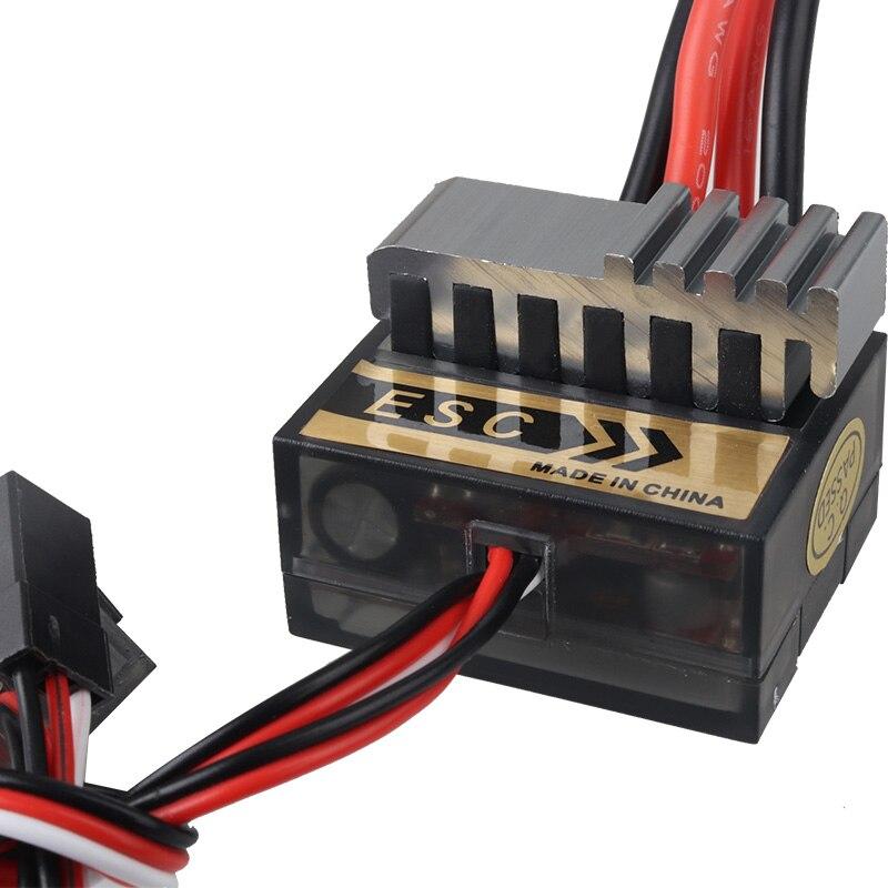 Nouveau chaud 1pc NiMH 4.8 - 7.2V 320A brossé électrique contrôleur de vitesse brosse ESC pour RC voiture boart 1/8 1/10 camion Buggy accessoires