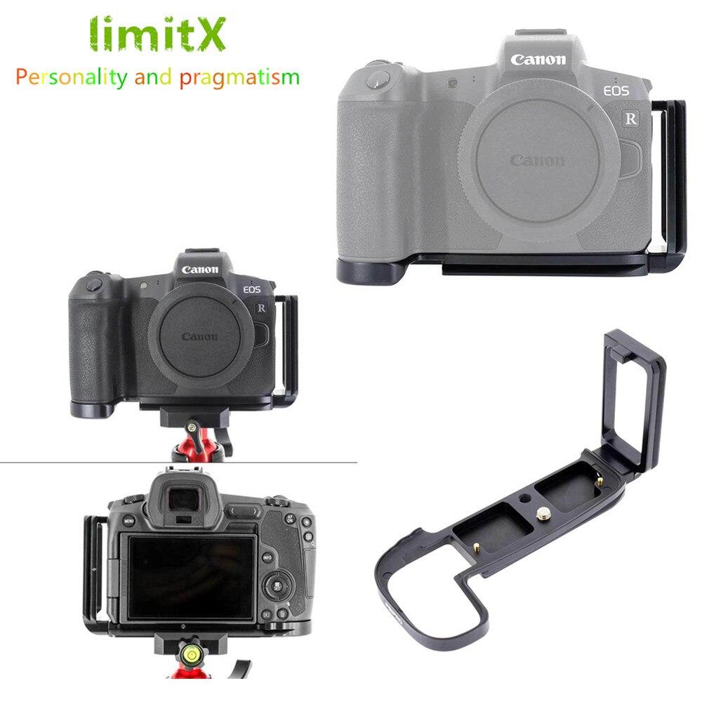 Soporte de trípode de liberación rápida en L soporte de mano para cámara Canon EOS R para Benro Arca Swiss
