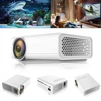 YG510 universel 120 pouces HD Portable Mini LED projecteur de poche cinema maison projecteur de cinema supportant laffichage de synchronisation filaire