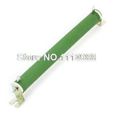 250 W 250 Ohm tubo de cerámica verde ajustable bobinado resistencia de potencia