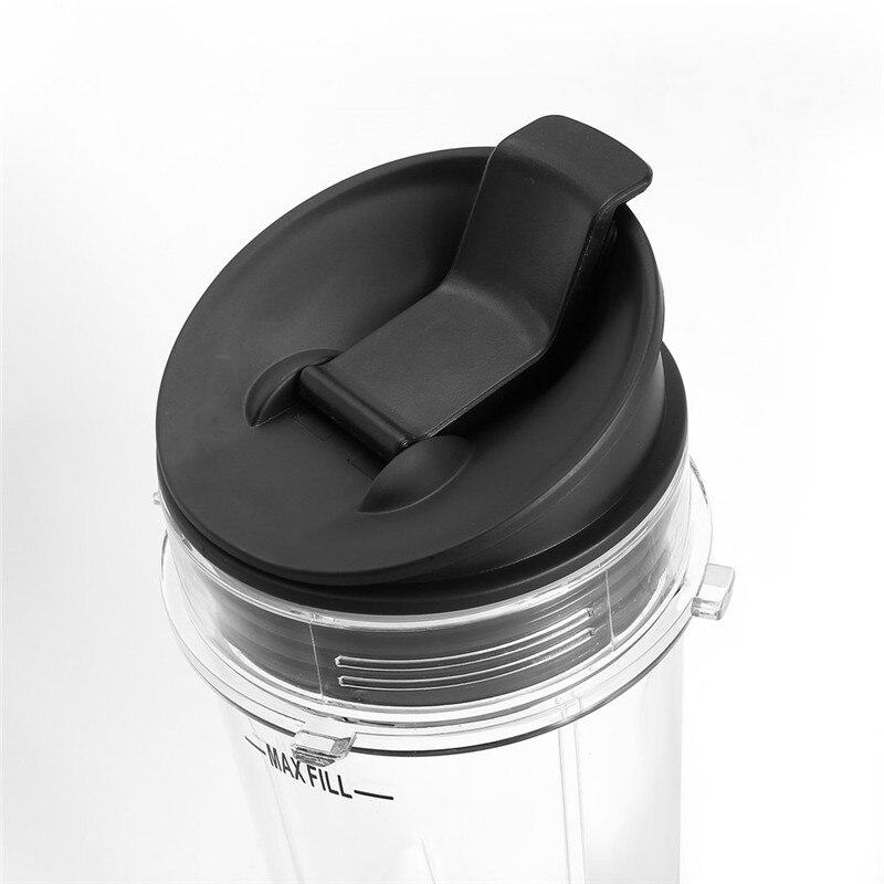ABS Durable Mixer Entsafter Teile Sport Kunststoff Flasche Griff Tasse Deckel Gute Dichtung Ring Halten Frische Entsafter Zubehör für NINJA