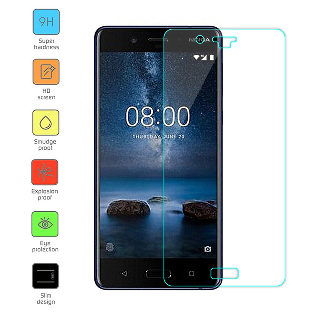 2.5D Tempered Glass Screen Protector for Nokia 640 XL 650 730 735 830 920 925 928 930 N950 XL 1020 S