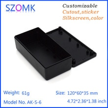 Boîte plastique abs 10 pièces/lot   Pour le projet électronique, boîtier de commande électrique standard szomk, boîte de bricolage, gps tracker
